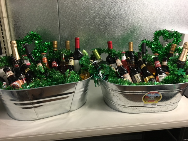 Sunrise Rotary Club is selling raffle tickets for a wine/beer tub in time for St. Patrick's Day. Tickets are $5 each or 3 tickets for $10. Two tubs will be given away and each has six bottles of wine and a dozen bottles of imported/craft beer. Contact Cindy Trammel, Club Secretary, for tickets, winnerscircle@cablelynx.com.